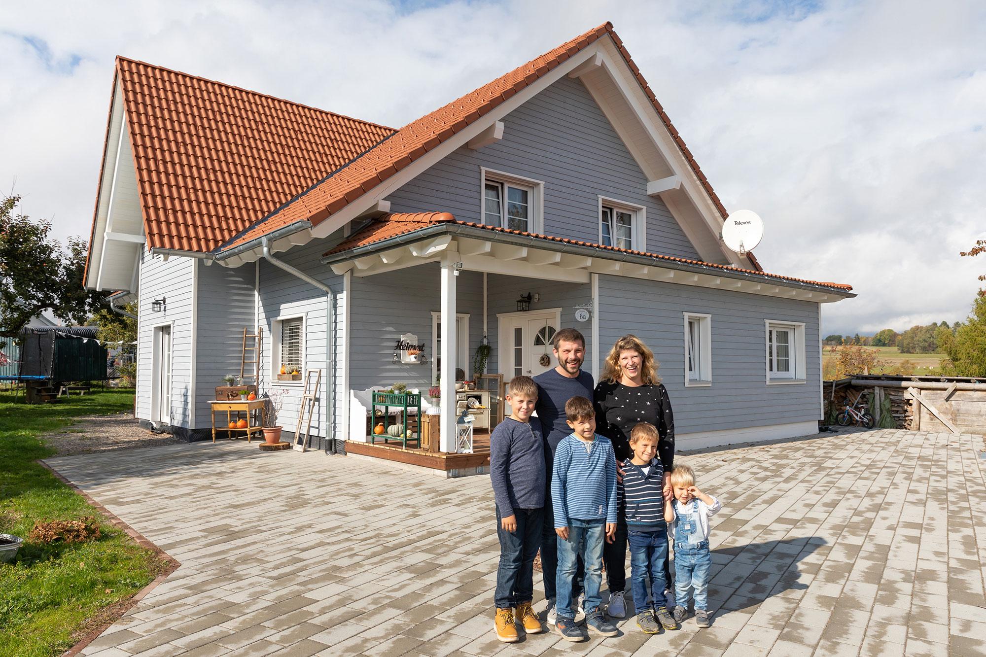 Bruno Kaiser - Holzhaus 1-2 Familien
