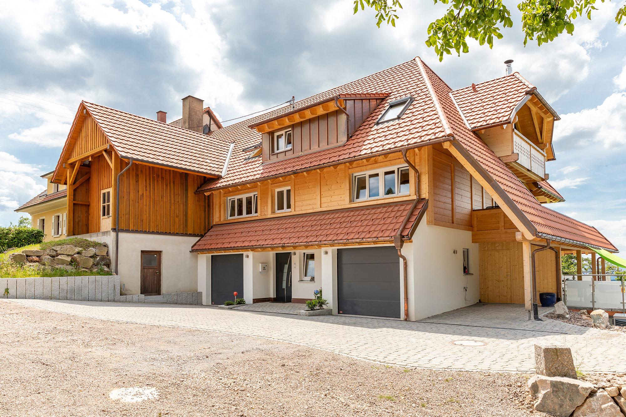 Bruno Kaiser - Umbau Holzbauweise