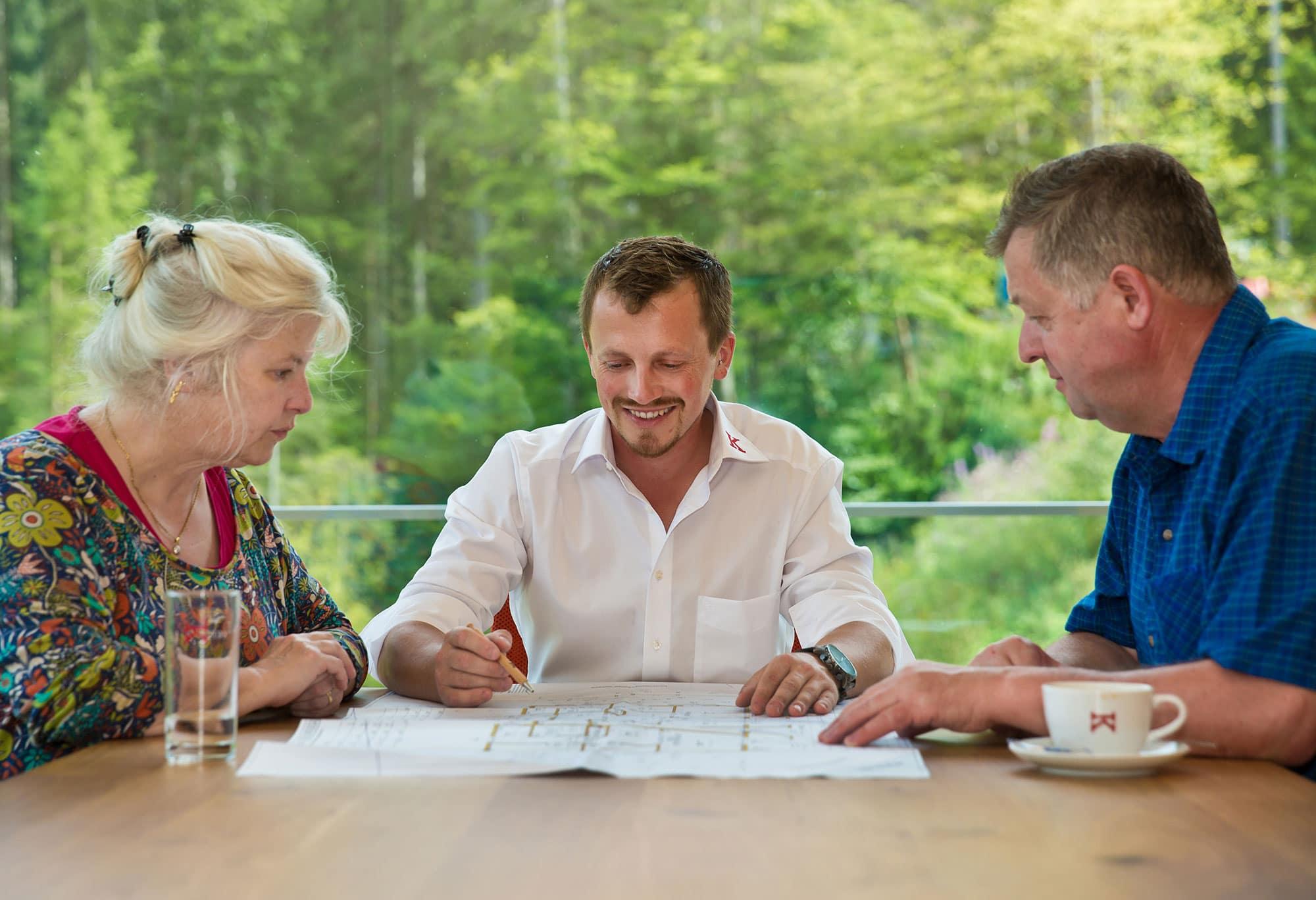 1–2-Familienhaus - Projektablauf