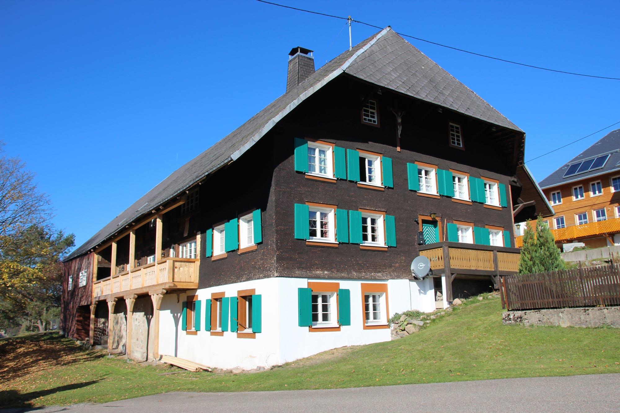 Sanierung Schwarzwaldhof in Holzbauweise