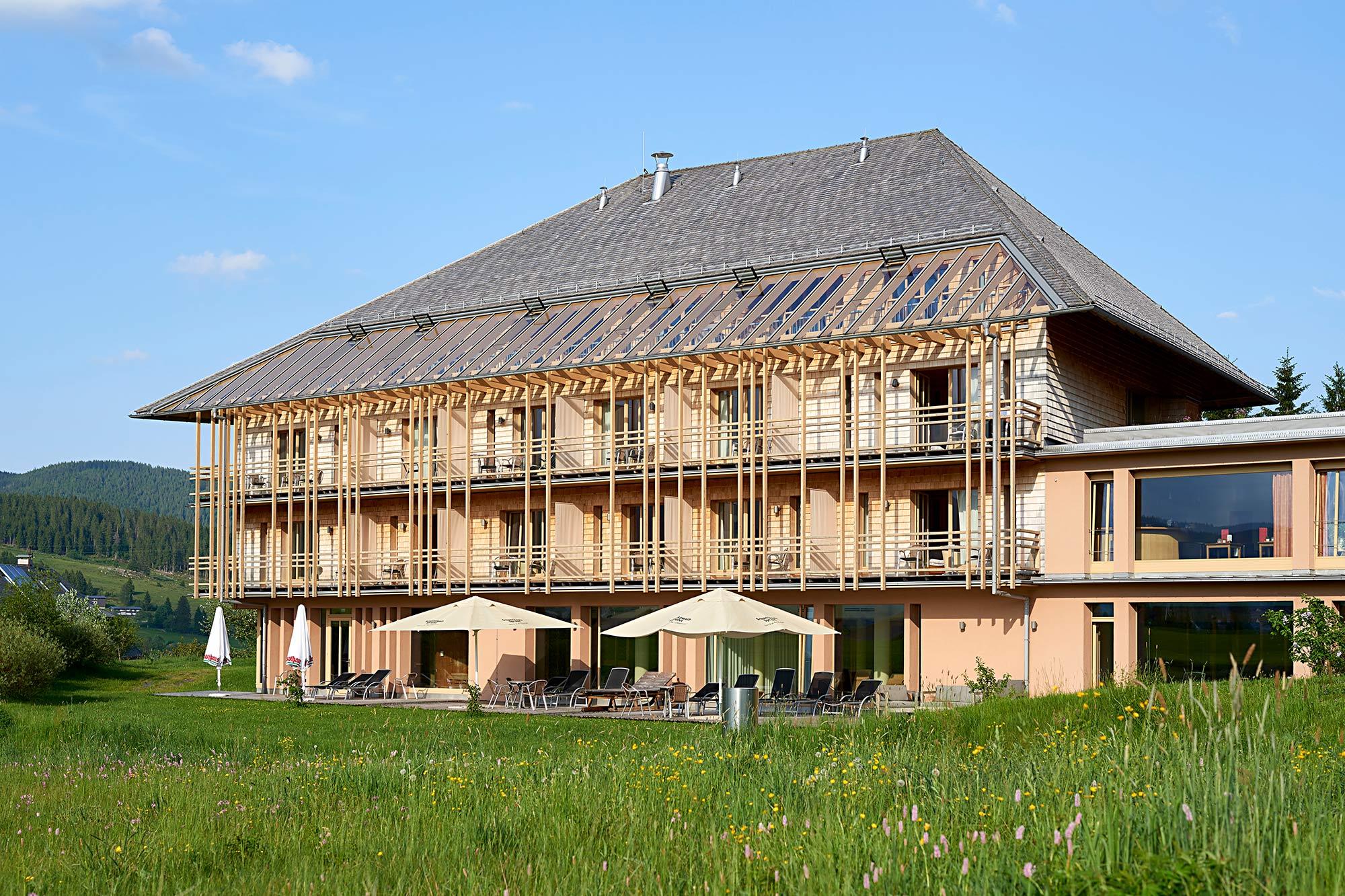 Hotel/Restaurant in Holzbauweise