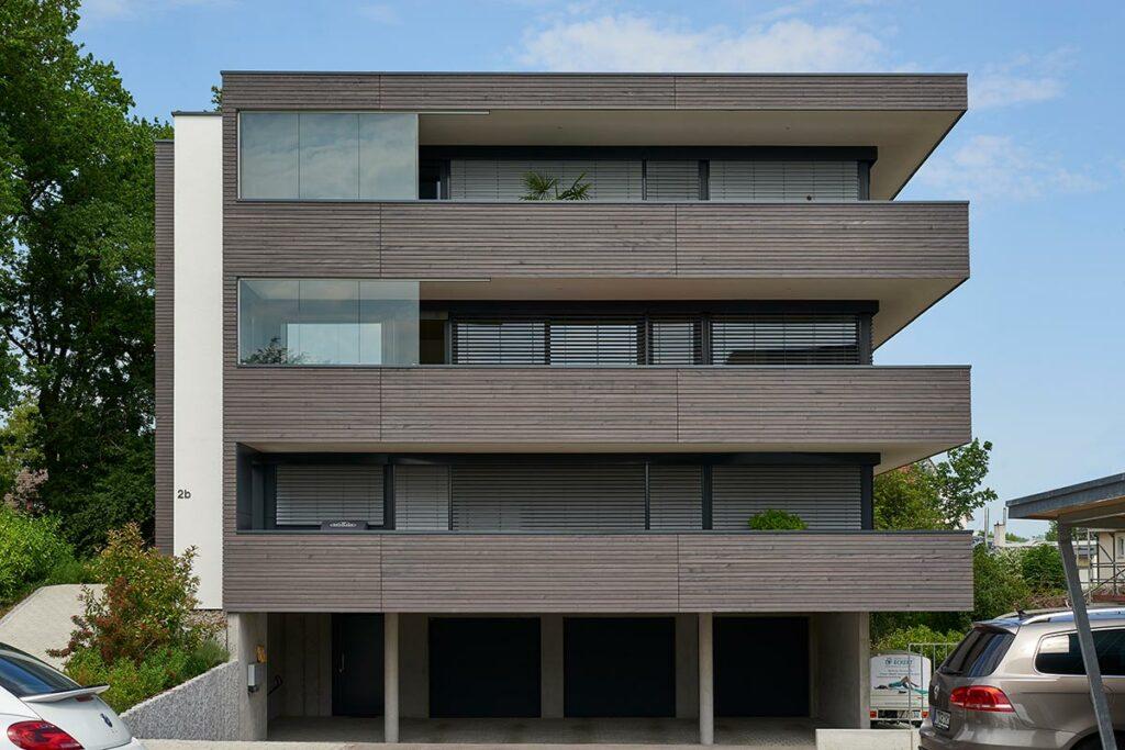 Mehrfamilienhaus Rhombus-Schalung