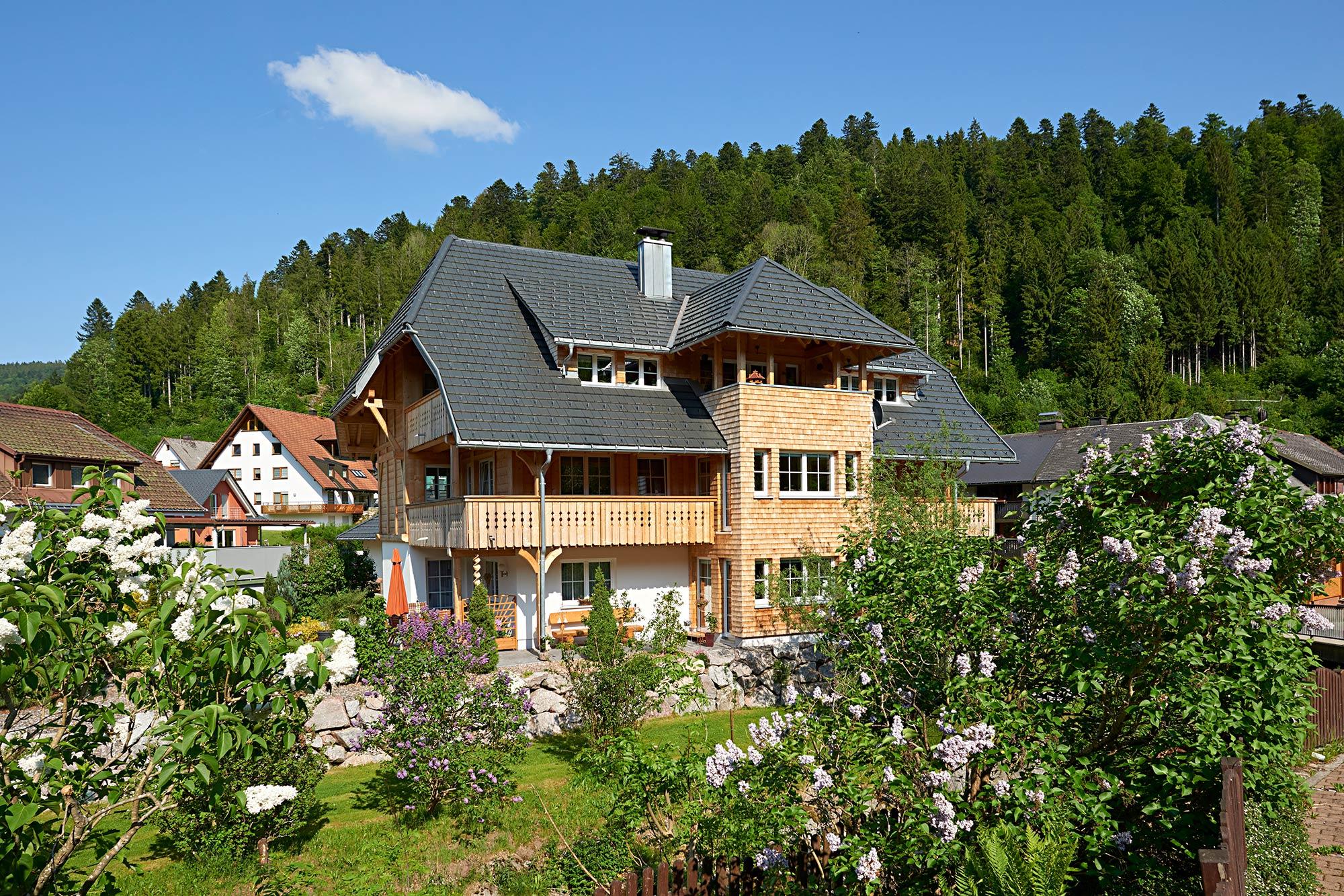 Mehrgenerationenhaus Holz