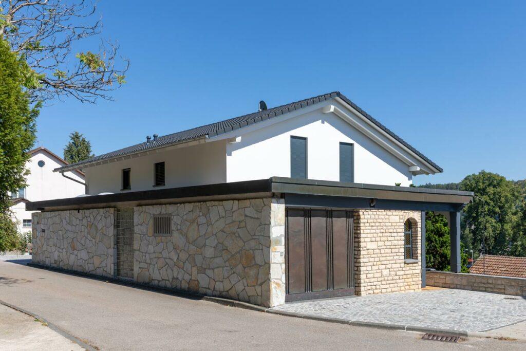 Satteldach Holzhaus