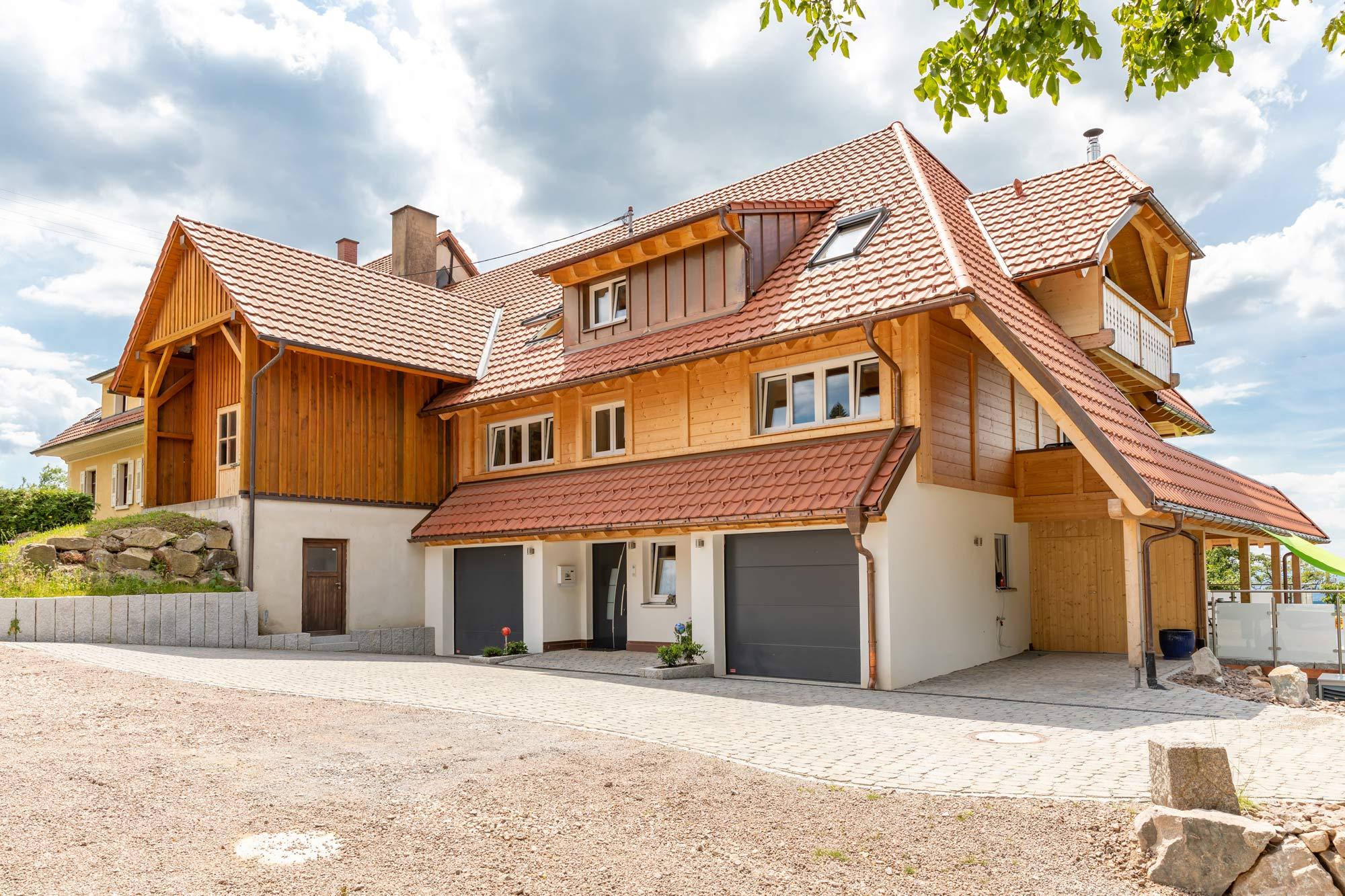 Umbau in Holzbauweise