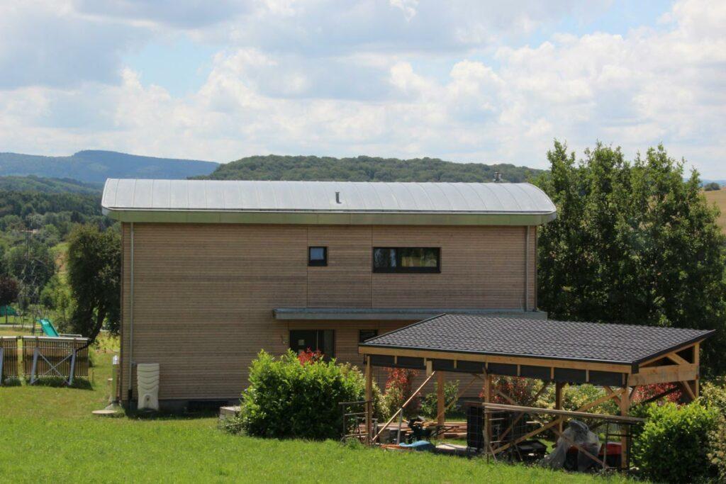 Tonnendach modern