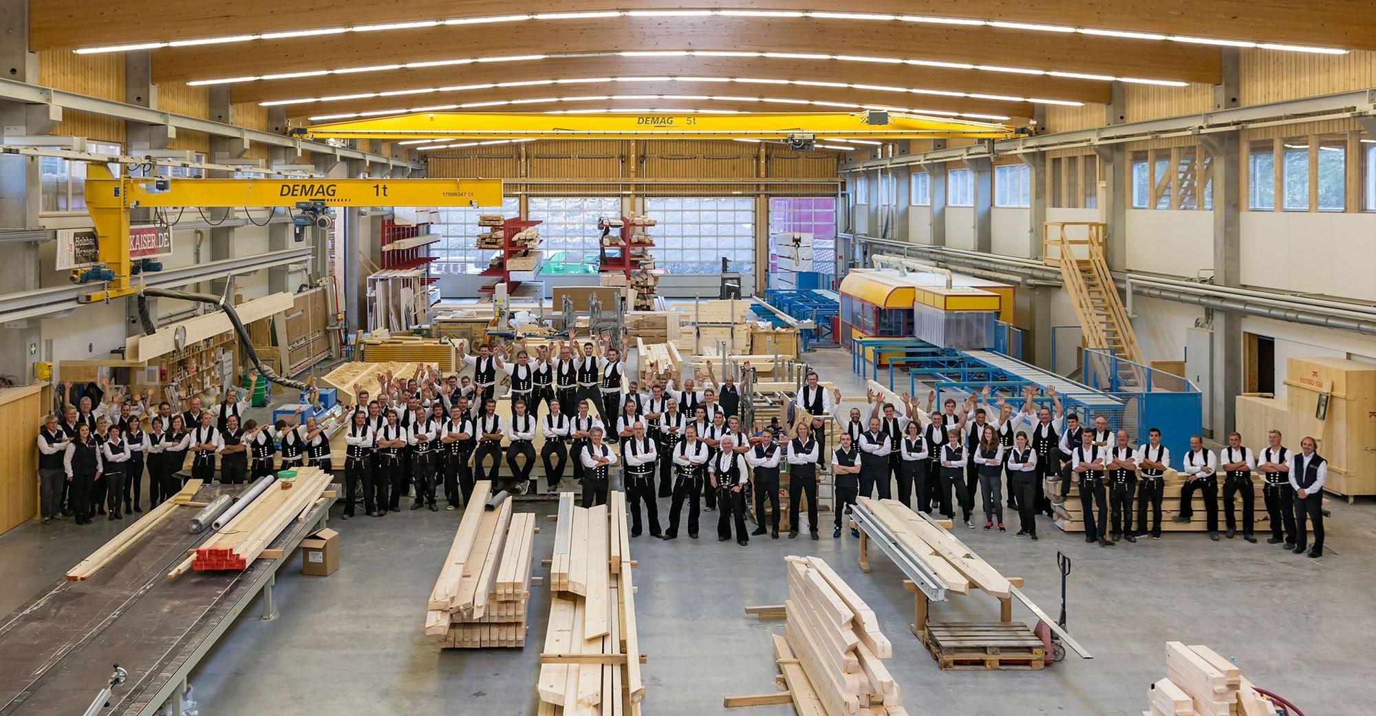 Kennenlernen - Holzbau Bruno Kaiser