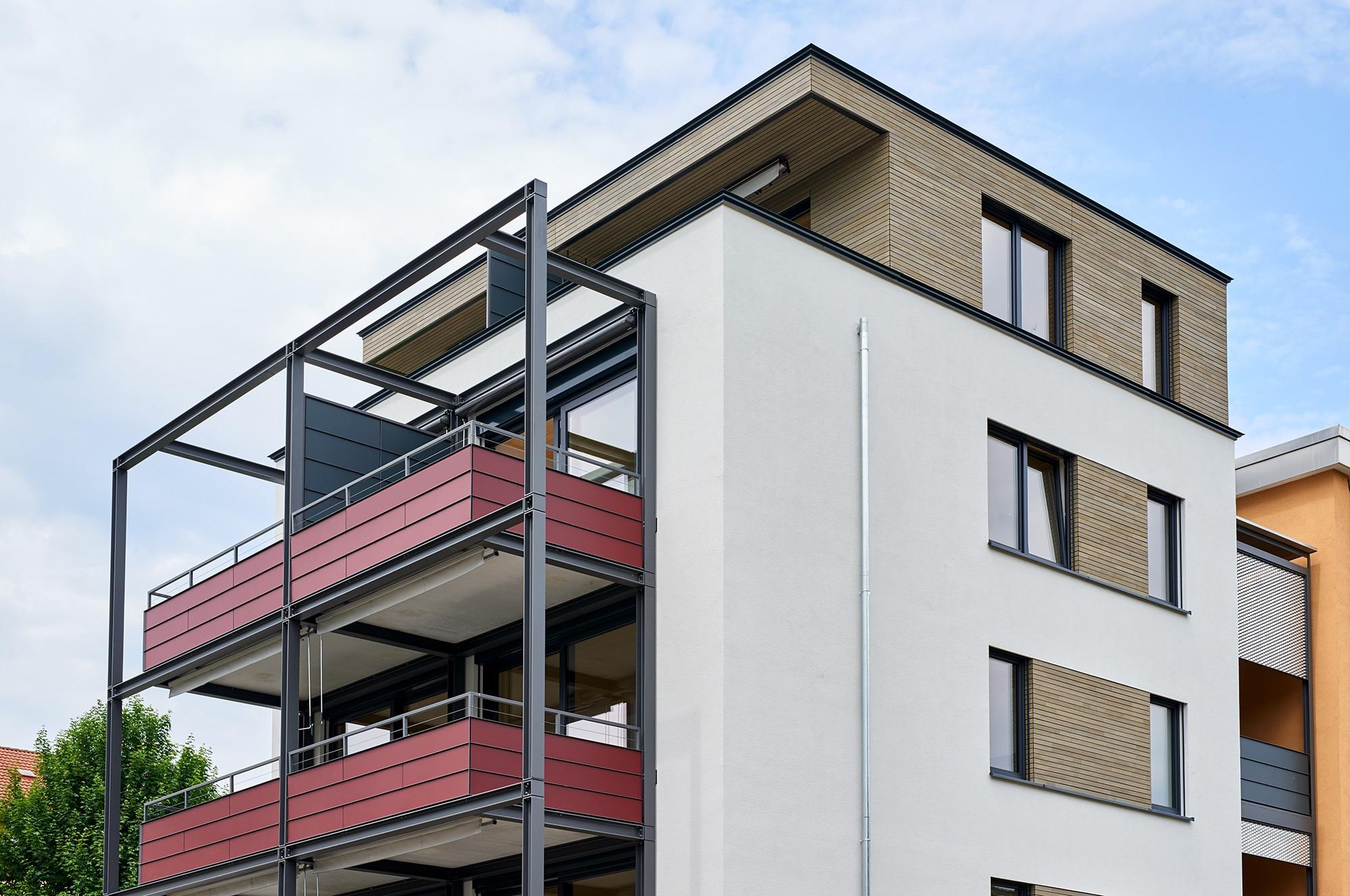Referenzen Mehrfamilienhaus - Holzbau Bruno Kaiser