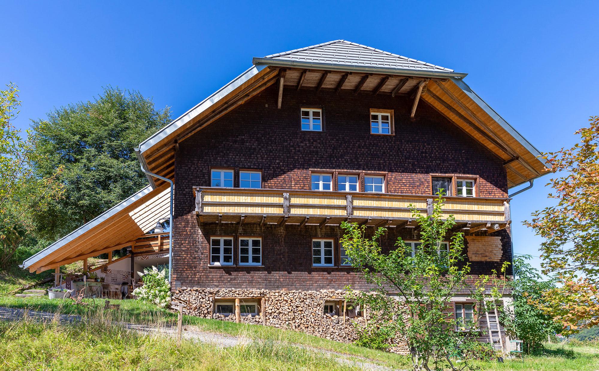 Sanierung Schwarzwaldhof - Holzbau Bruno Kaiser